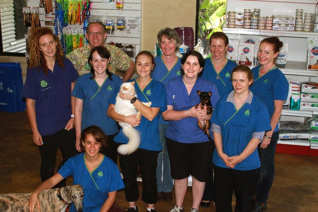Some of our friendly staff